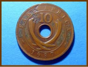 Восточная Африка 10 центов 1937 г.