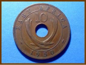 Восточная Африка 10 центов 1950 г.