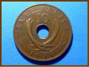 Восточная Африка 10 центов 1936 г.