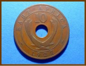 Восточная Африка 10 центов 1927 г.