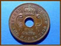Восточная Африка 10 центов 1956 г.