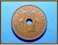 Родезия и Ньясаленд 1/2 пенни 1964 г.