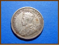 Канада 25 центов 1936 г. Серебро