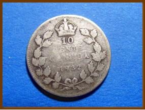 Канада 25 центов 1932 г. Серебро