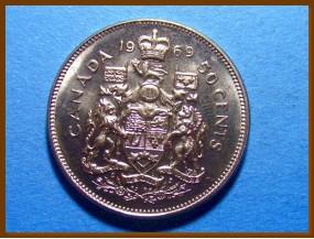 Канада 50 центов 1969 г.