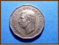 Канада 5 центов 1951 г.