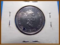 Канада 25 центов 1999 г.