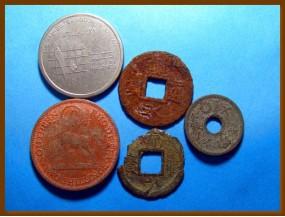 Иностранные монеты 5 шт.