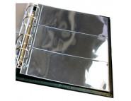 "Лист Стандарт для хранения бон (банкнот) на 3 ячейки. Стандарт ""OPTIMA"". Размер 200х250 мм"