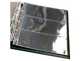 """ЛистСтандарт для хранения бон (банкнот) на 3 ячейки. Стандарт """"OPTIMA"""". Размер 200х250 мм"""
