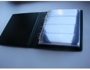 "Лист Стандарт для хранения бон (банкнот) на 4 ячейки. Стандарт ""OPTIMA"". Размер 200х250 мм"