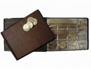 Монетник карманный «Юбилейка» на 72 монеты диаметром до 40 мм (72х45)
