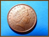 Бермуды 1 цент 2000 г.