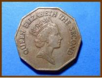 Белиз 1 доллар 1990 г.