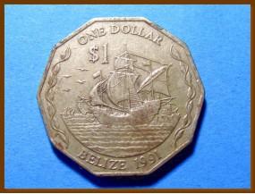 Белиз 1 доллар 1991 г.