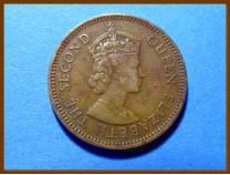 Белиз 5 центов 1975 г.