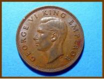 Новая Зеландия 1/2 пенни 1945 г.