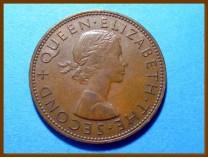 Новая Зеландия 1 пенни 1958 г.