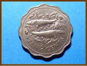 Багамские острова 10 центов 1975 г.