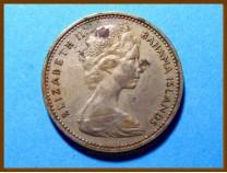 Багамские острова 5 центов 1968 г.