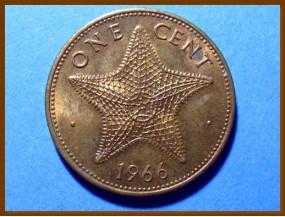 Багамские острова 1 цент 1966 г.