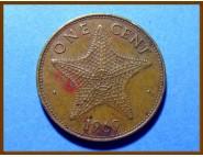 Багамские острова 1 цент 1969 г.