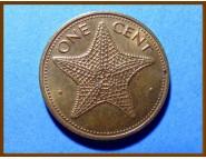 Багамские острова 1 цент 1977 г.
