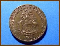 Багамские острова 1 цент 1974 г.