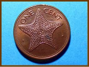 Багамские острова 1 цент 1990 г.