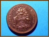 Багамские острова 1 цент 2001 г.