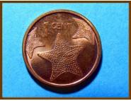 Багамские острова 1 цент 2006 г.