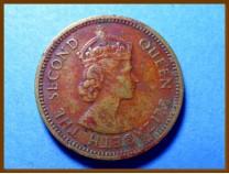 Британский Гондурас 5 центов 1962 г.