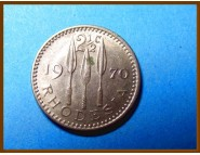 Родезия 2 1/2 цента 1970 г.