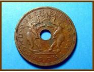 Родезия и Ньясаленд 1 пенни 1958 г.