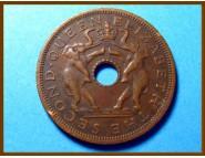 Родезия и Ньясаленд 1 пенни 1962 г.