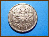 Гайана 25 центов 1981 г.