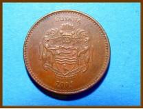 Гайана 5 долларов 2005 г.