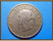 Ямайка 1/2 пенни 1880 г.