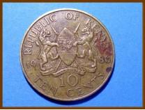 Кения 10 центов 1986 г.
