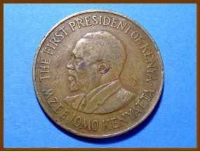 Кения 10 центов 1974 г.