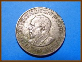 Кения 1 шиллинг 1973 г.