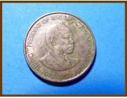Кения 50 центов 1989 г.