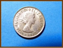 Австралия 3 пенса 1963 г. Серебро