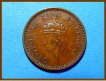 Индия 1/2 пайсы 1939 г.