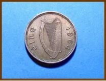Ирландия 3 пенса 1964 г.