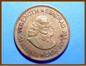 Южная Африка ЮАР 1 цент 1961 г.
