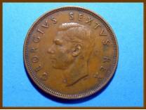 Южная Африка ЮАР 1 пенни 1949 г.