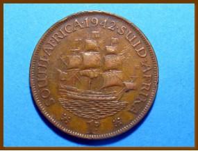 Южная Африка ЮАР 1 пенни 1942 г.