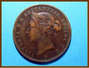 Джерси 1/12 шиллинга 1888 г.