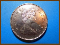 Великобритания 25 пенсов 1980 г.